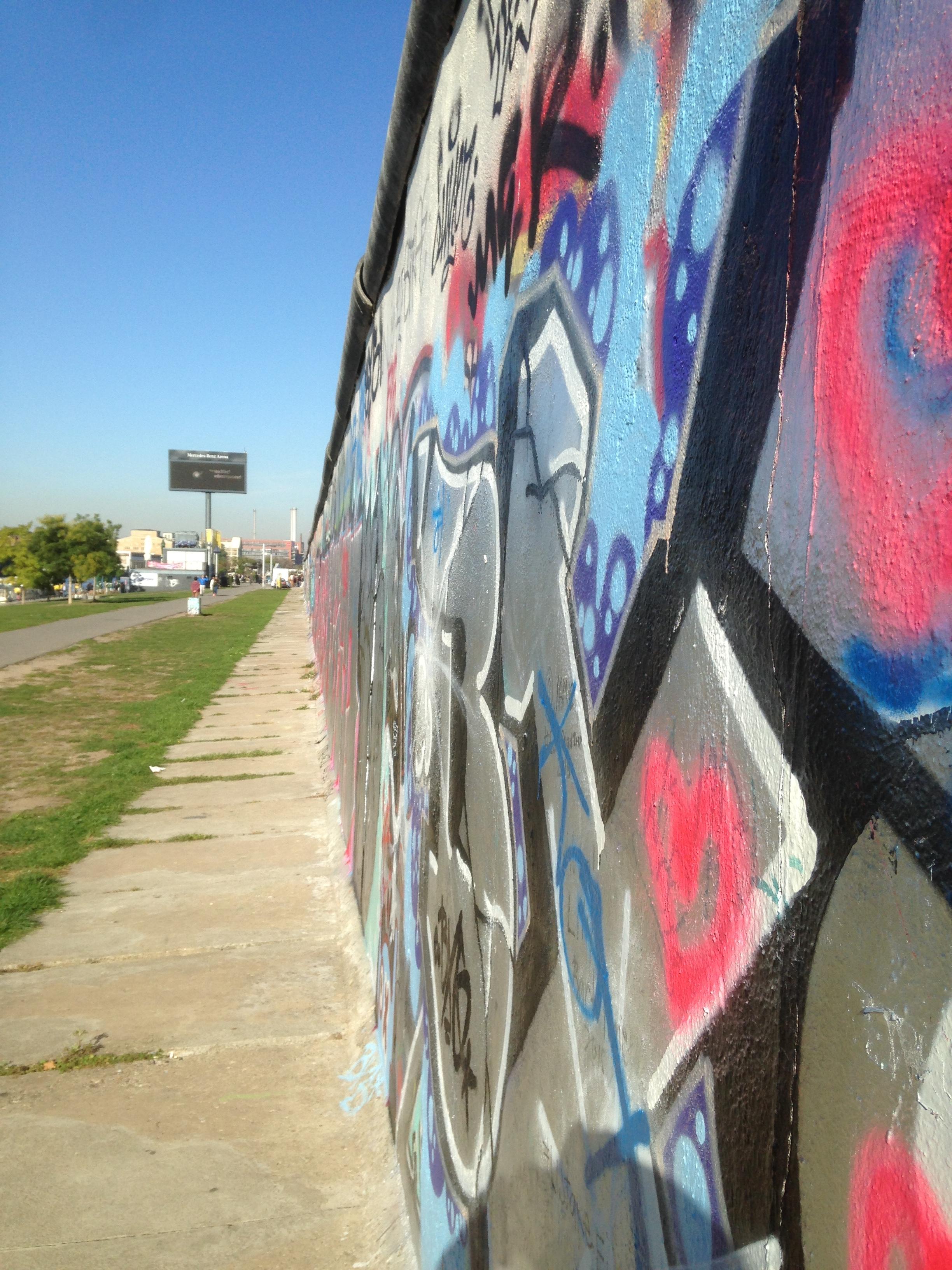 Face au Mur sur East Side Gallery
