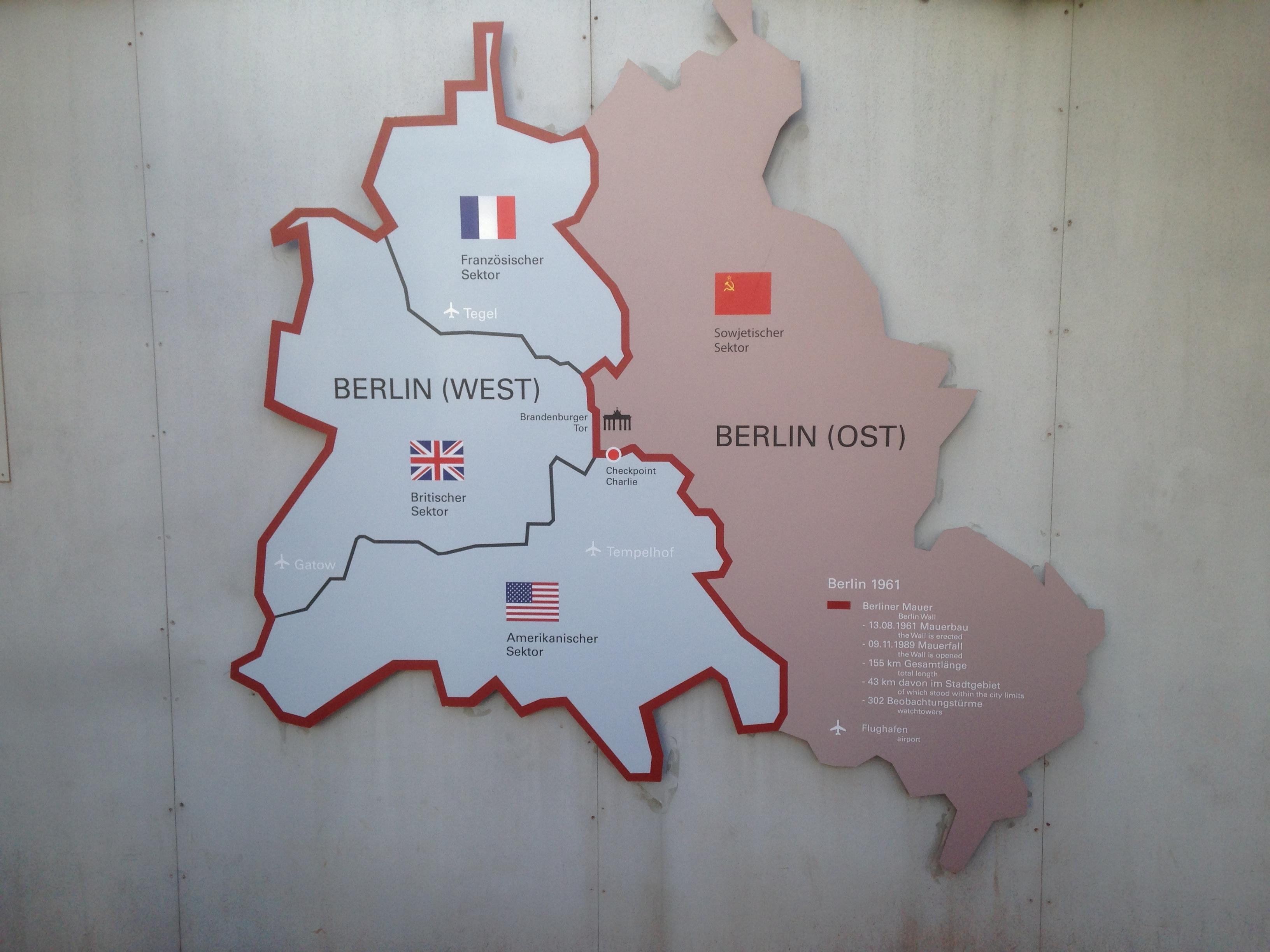 Berlin Ouest et Berlin Est
