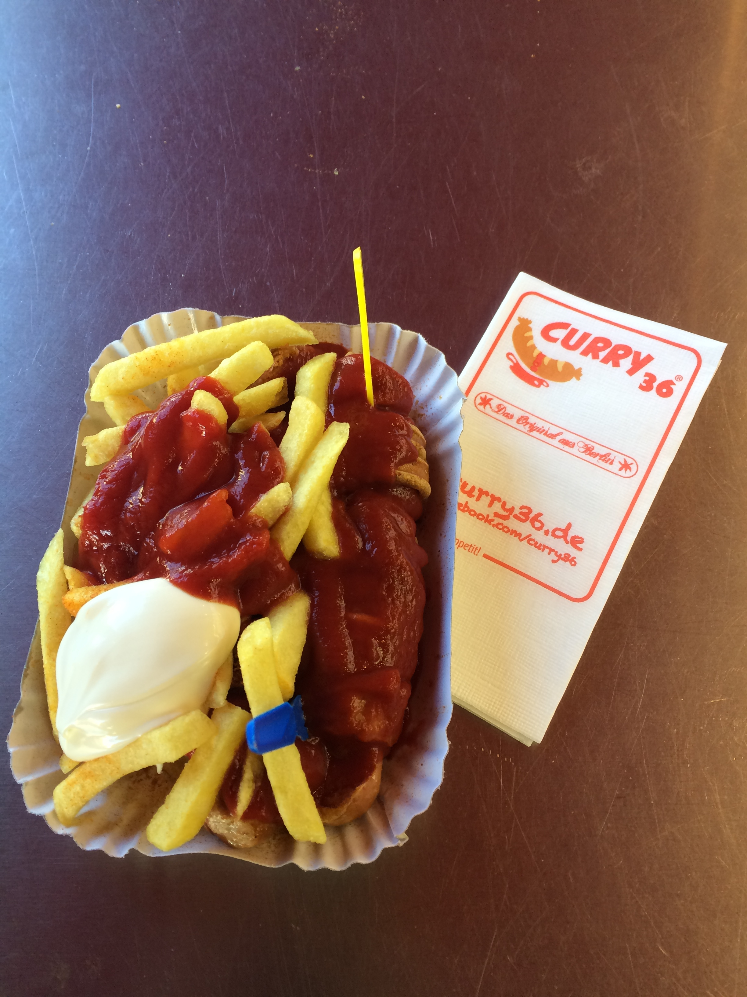 La traditionnelle Currywurst